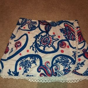 like new lilly pulitzer skirt